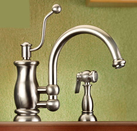 How To Change Old Kitchen Faucet