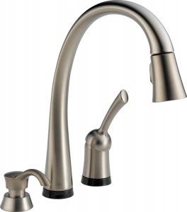 Delta best touch kitchen faucet