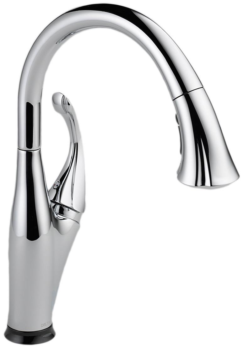 touch sensitive kitchen faucet delta 9192t sssd dst review single handle touchless 22387