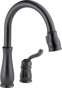 delta oil rubbed bronze kitchen faucets