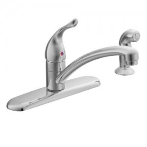 moen low arc kitchen faucet