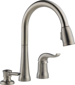 The 50 best kitchen faucets top rated reviews ratings 2018 for Best selling kitchen faucet
