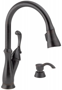 delta faucet with soap dispenser