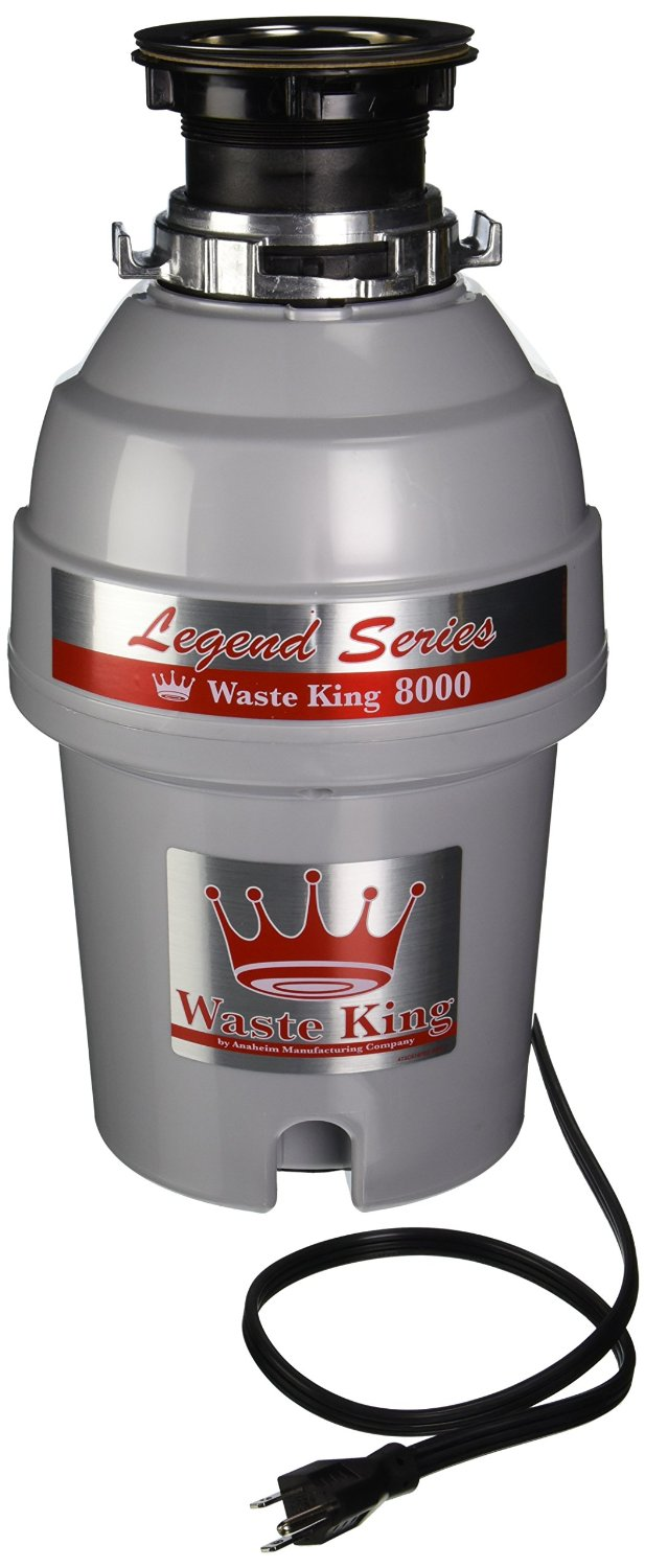 Waste King L-8000 Legend Series 1.0-Horsepower Continuous-Feed Garbage Disposal review