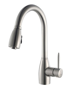 The Kraus KPF 2130 Is Really A High End Faucet To Your Kitchen. I Am  Totally In Love With This. The Goose Neck Design With The One Lever Control  Operation ...