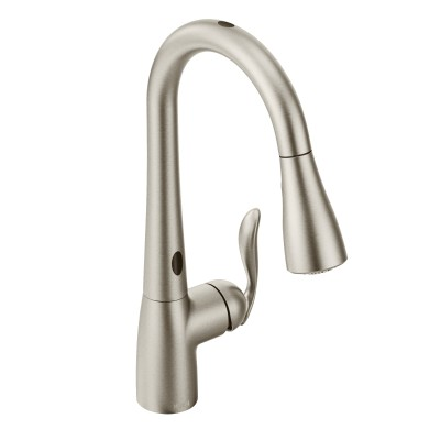 faucet semi professional stainless sink kitchen simplice faucets dp vibrant kohler vs