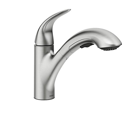 Moen One Handle Pull Out Kitchen Faucet