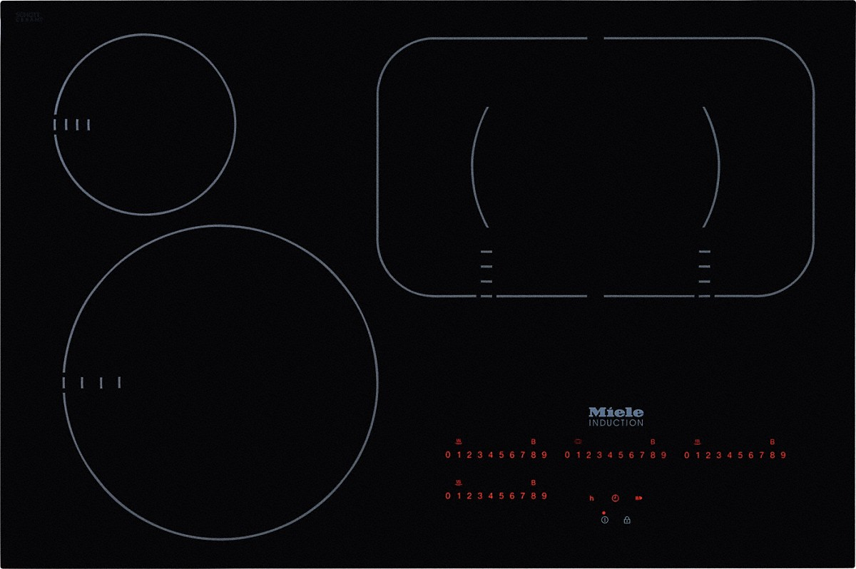 a Miele KM 6365 induction cooktop