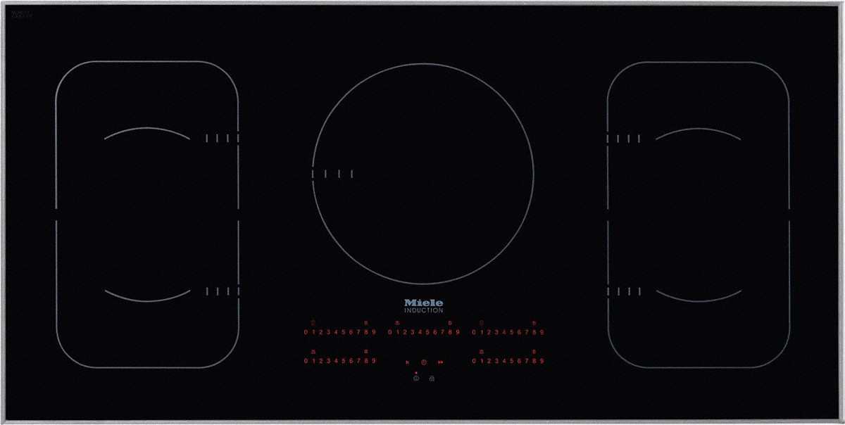 a Miele KM 6377 induction cook top