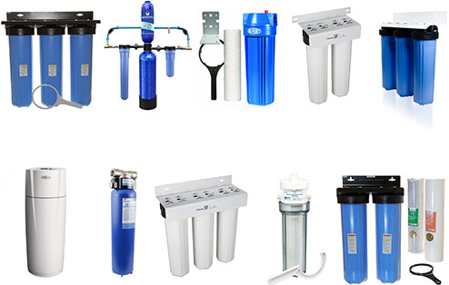 10 different whole house water filtration system