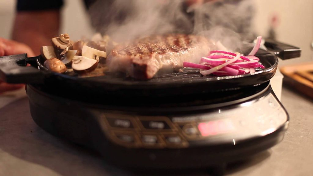 using a Nuwave grill