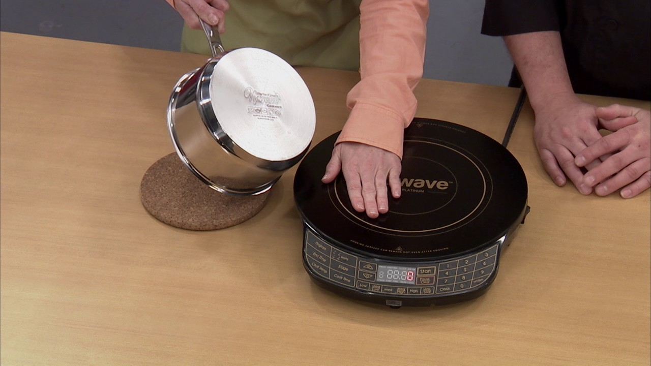 using the nuwave platinum induction cooktop