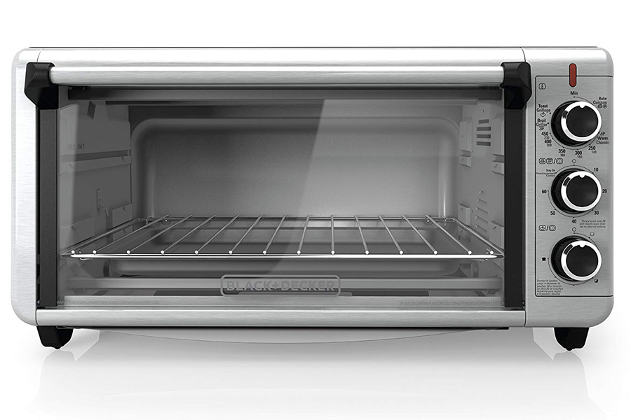 a clean oven with no grease or food residue